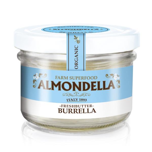 Crema Tartinabila din Migdale cu Unt Proaspat de Migdale, Fara Gluten, Fara Lactoza, Almodella, Eco, 180 gr