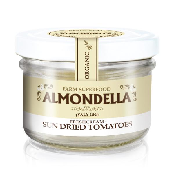 Crema Tartinabila din Migdale cu Rosii Uscate, Fara Gluten, Fara Lactoza,  Almodella, Eco, 180 gr