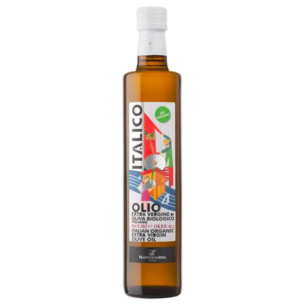 Ulei Extravirgin de Masline, 100% din Italia, Italico Bio-Agraria Riva del Garda, Eco, 500 ml